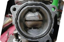 EGR valve to prevent contamination. EGR valve problem.